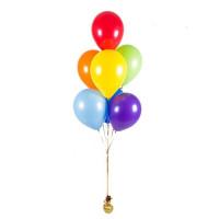 Гелиевые шары 9 шт