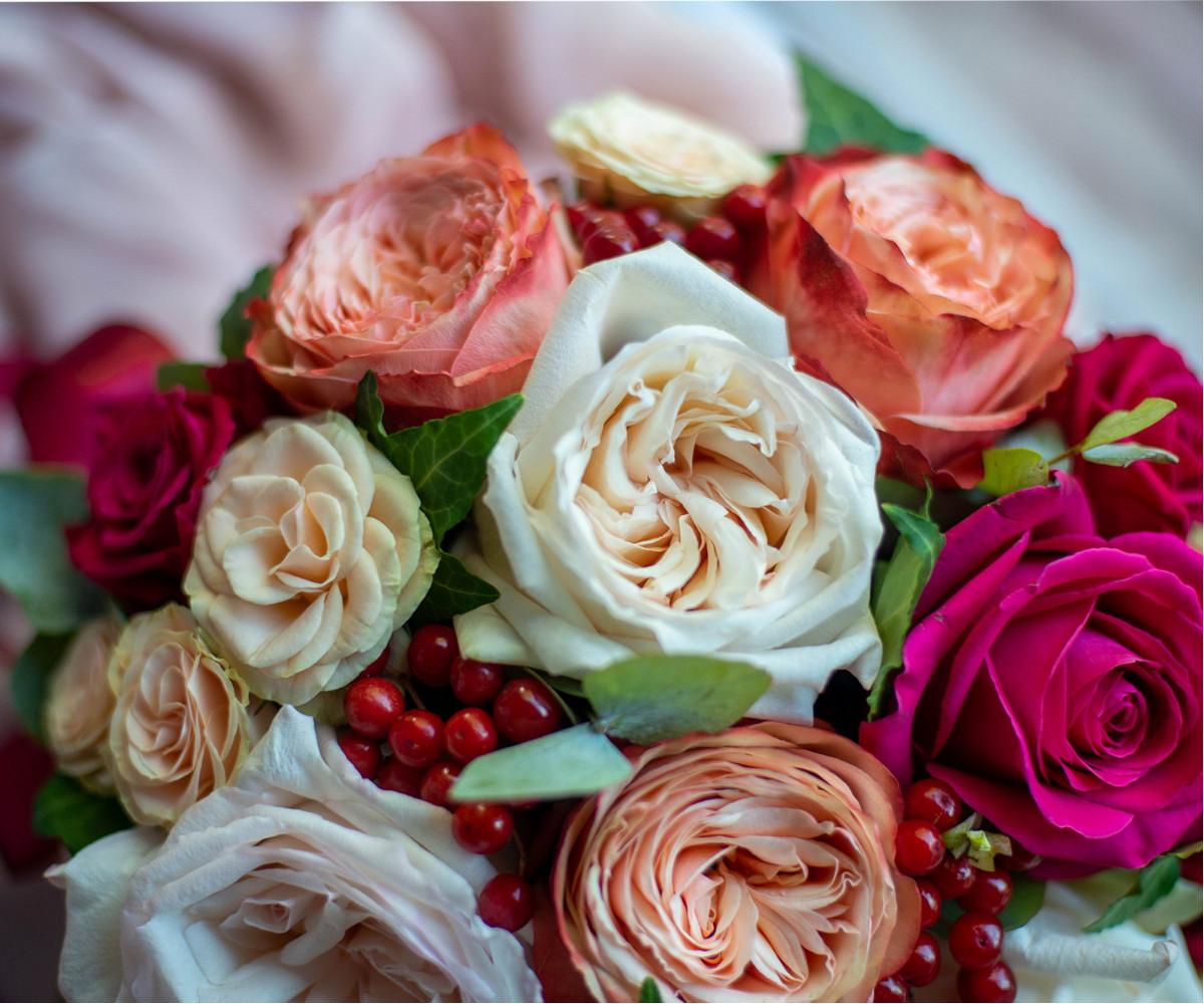 Коробка с цветами 1