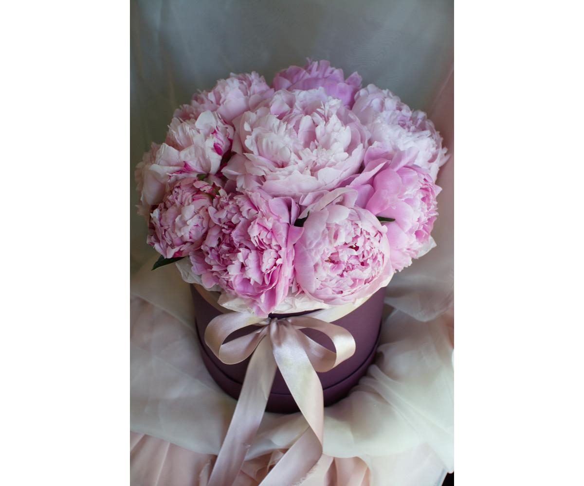 Коробка с цветами 30
