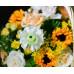 """Корзина с цветами """"Ароматный луг"""""""
